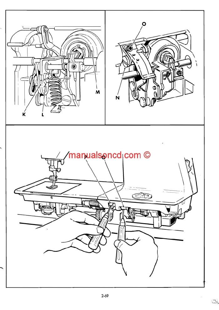 singer sewing machine 411g repair manual pdf