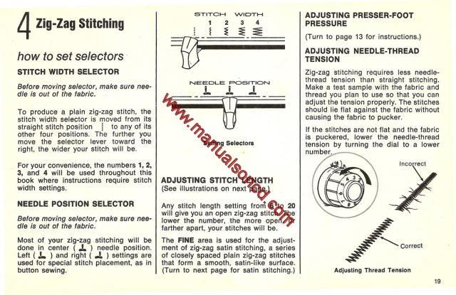 singer fashion mate 257 service manual