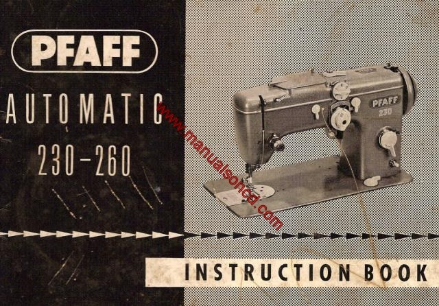 pfaff service manual free download